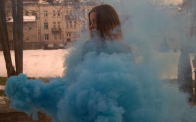 Кольоровий дим Львів