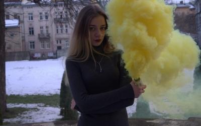 Кольоровий дим купити
